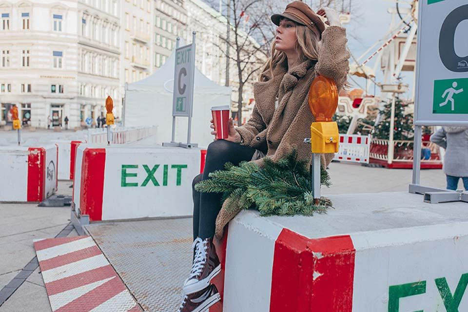 fake fur, sneaker, weihnachten, hut