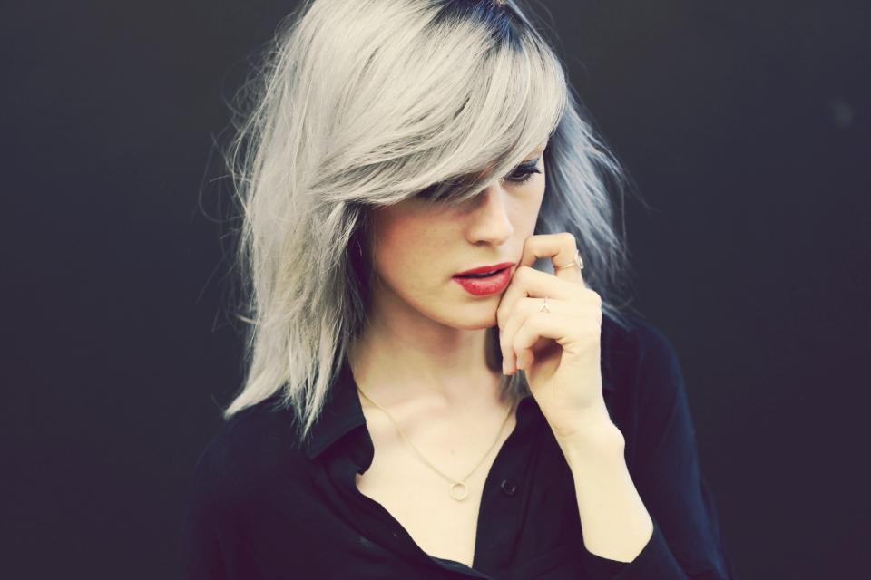 Prächtig Rote Haare Grau färben - Granny Hair: Vorher Nachher Ergebnis #SE_89