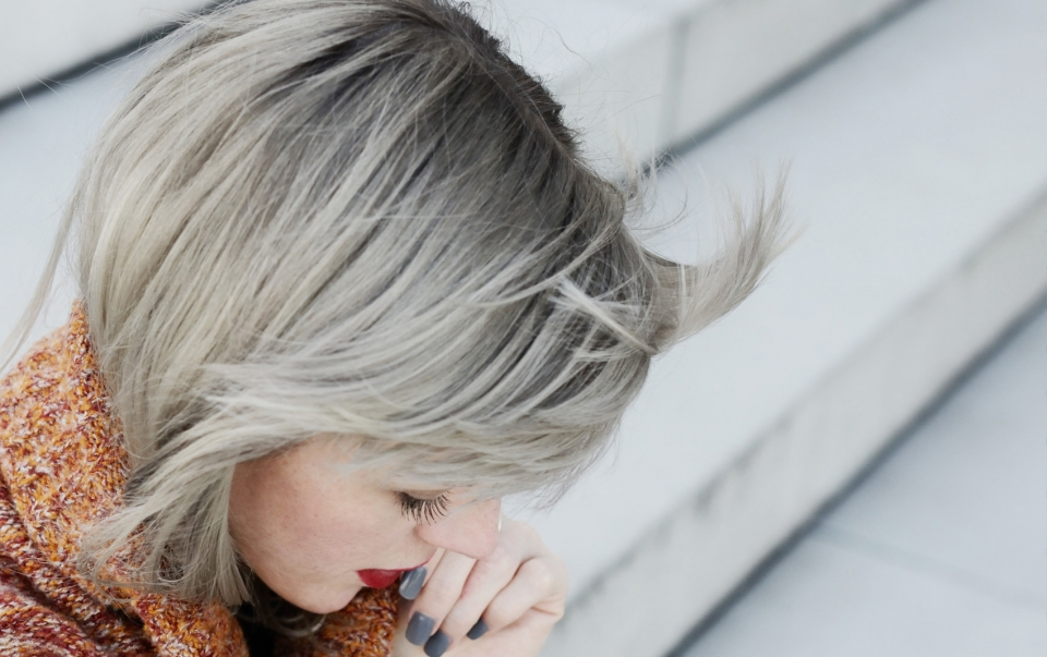 granny hair pflege haarpflege routine fà r graues haar