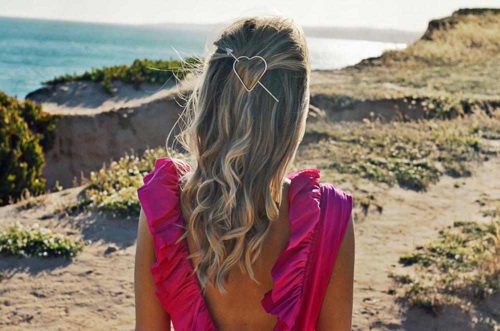 frisuren, haare, hairdo, haarklammer, haarnadel, beachwaves