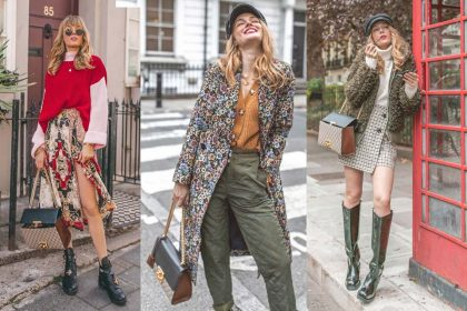 london, style, rock, skirt, sweater, pullover, gucc, tasche