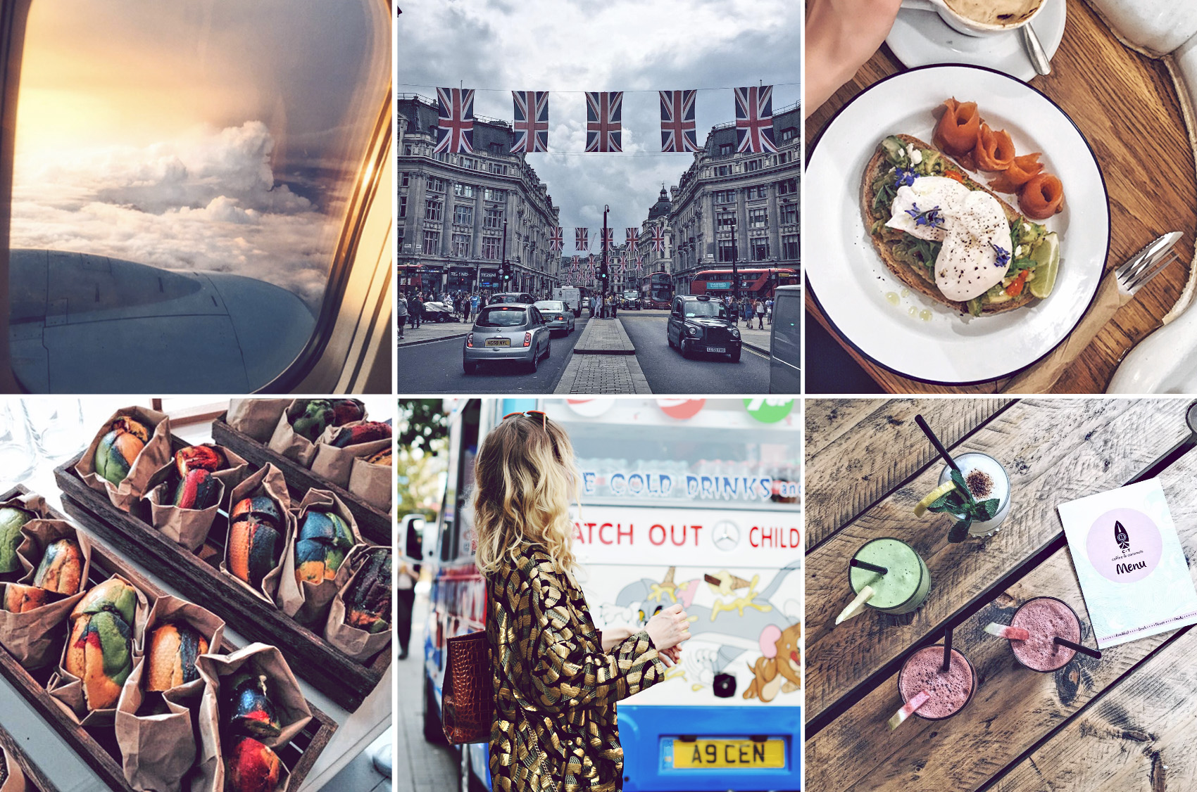 london-collage-travel
