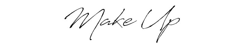 freisteller, schrift, make up