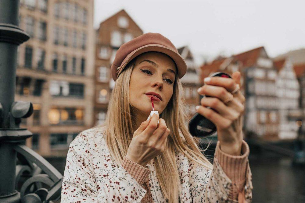 make up, nägel, maskara, mascara, schminken, beauty, lippenstift, porträt