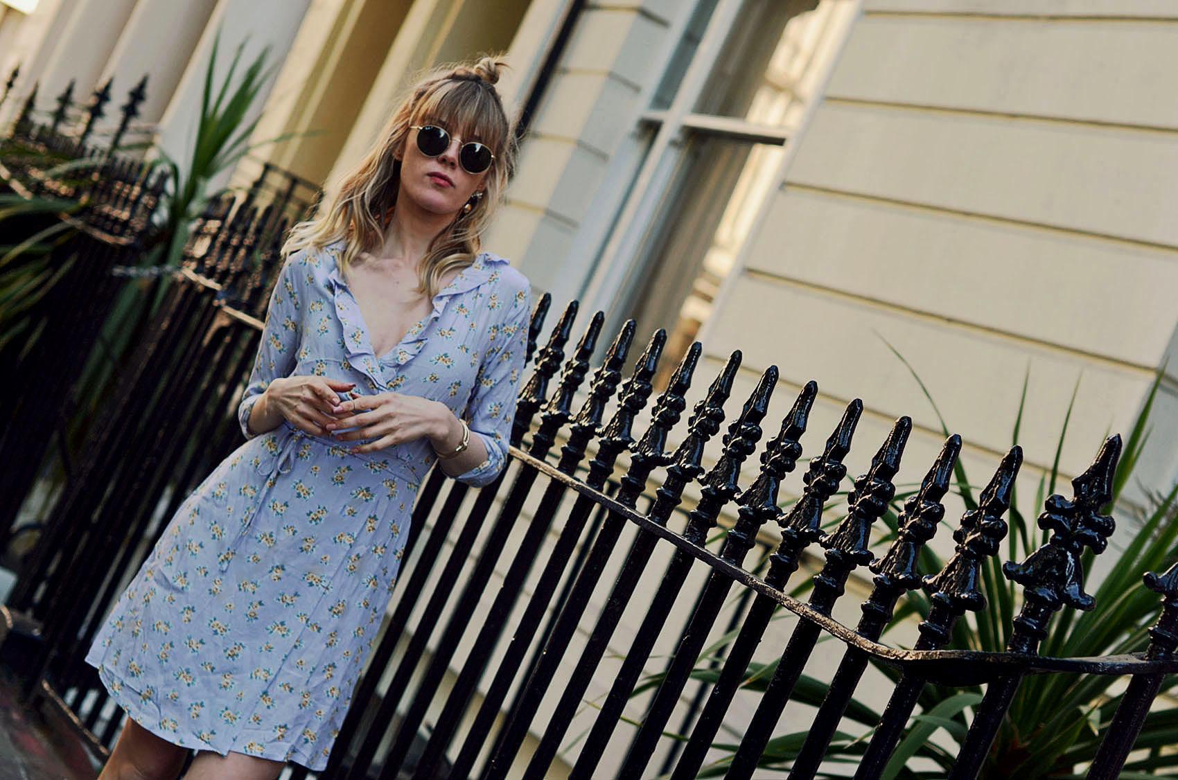 sommerkleid, blümchenkleid, london, style