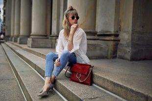 pandora, tunika, sommerkleid, kleid, jeans, used look jeans, high heels, jimmy choo, chloe, layering