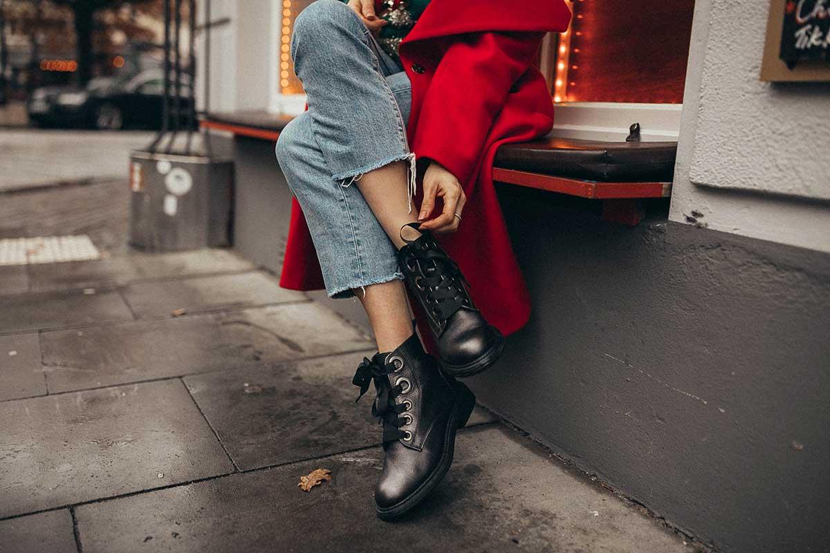 boots, schuhe, mantel, hose, jeans, stiefel